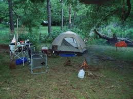 camping in the woods.  The Campingu2026Sorta In Camping The Woods