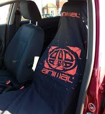 new animal single car or van seat cover