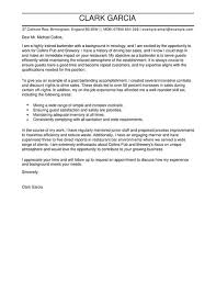 Cover Letter Tips for Server Templates Examples