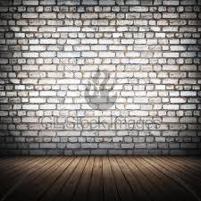 brickwall interior wall 3d rendering