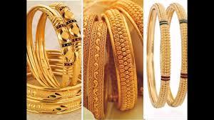 New Latest Gold Bangles Design Latest Light Weight Gold Bangles Designs Gold Kangan Kara