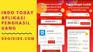 Aplikasi penghasil uang tanpa paypal ini memberi rewards kepada pengguna yang membaca dan membagikan berita atau artikel dari aplikasi penghasil dolar tersebut. Indo Today Apk Penghasil Uang Baca Berita Dapat Uang Berikut Ini Caranya Droidide