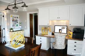 Home Office Craft Room Office makeover Home Office Craft Room E