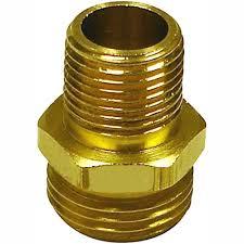 reels 10783 garden hose adapter 1 2 npt m x 3 4