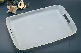 custom design acrylic bar serving tray