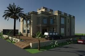 Elevation Design Photos Residential Houses Oman Arabian Beautiful Villa 3d Front Elevation Design