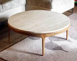 marvelous round stone coffee table round stone coffee table i like the round shape to this