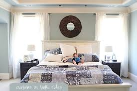 Nice Master Bedroom Curtains And Well Hung Bower Power