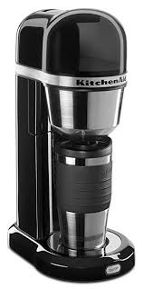 amazon com kitchenaid kcm0402ob personal coffee maker onyx kitchenaid kcm0402ob personal coffee maker onyx black