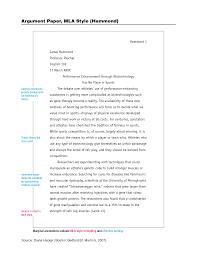 essays format