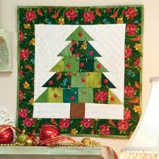 Christmas Quilt Patterns Inspiration Tiny Tannenbaum FREE Adorable Little Christmas Tree Quilt Pattern