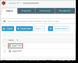 Optional) Configuring a Webpage Redirect - Amazon Simple Storage Service