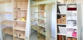 closet for improved storage capacity