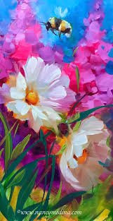 painting of flowers top 25 best acrylic painting flowers ideas on