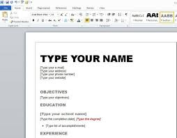 Free Resume Templates Microsoft Word 2010 | Viaweb.co