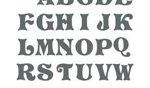 Letter Of The Alphabet Template Barrest Info