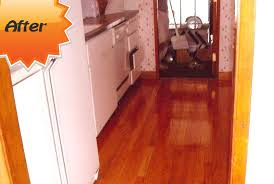 for example floors that have been finished with wa or modern aluminum oxide coatings should often be