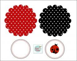 Free Printable Ladybug Baby Shower Invitations