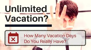 why an unlimited vacation policy is not