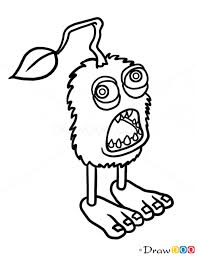 Small Picture How to Draw Furcorn Singing Monsters