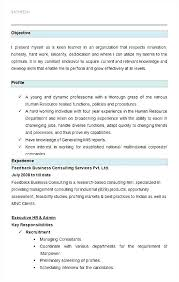 resume for human resources manager human resource specialist resume pictx host