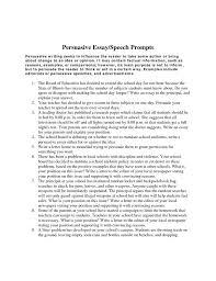 Persuasive Speech Essay Examples Persuasive Essay Against Gun ...