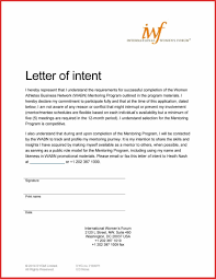 Business Letter Of Intent Sample Template 1 To 1 Meeting Template