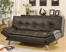 black leather futon costco sleeper chair