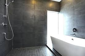 The Ease And Beauty Of Open Concept Showers Home Garden Design Open