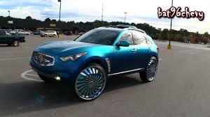 infinity 2011. 2011 candy teal infiniti fx35 on 30\ infinity