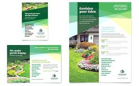 lawn care templates lawn care business flyer template mowing intended for templates free
