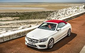 Seat belts can be red, black, or silver. First Drive Review 2016 Mercedes C Class Cabriolet