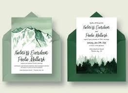 Wedding Invitation Templates With Photo 23 Gorgeous Invitation Templates For Weddings 2019 Colorlib