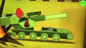 Hành trình kiếm E100 và tiêu diệt xe lửa phim hoạt hình xe tăng ...