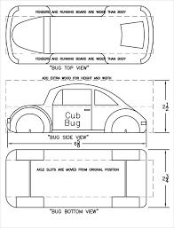 Skateboard Pinewood Derby Car Templates Wedge Design