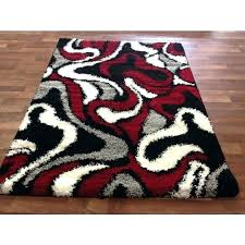 black and gray area rug black white grey rug fascinating red and gray area rugs outstanding