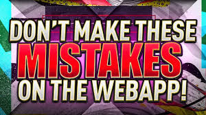 DON'T MAKE THESE MISTAKES ON THE FIFA 20 WEB APP!! FIFA ...