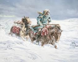 Kelley K Hunting Lights Foundation Arts Ephraim K Hanks Obeying The Spirit By