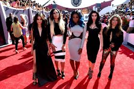 Recording Artists Fifth Harmony Attend The 2014 Mtv Video