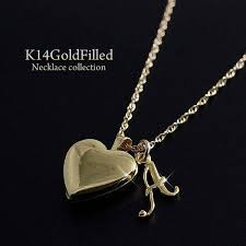 14 kgf locket necklace pendant heart initial charm 14 k gold field delivery flights for cases with women s gold and supple giveaways beautiful luxury