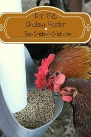 The Chicken Chick My PVC Chicken Feeder DIY instructions