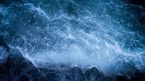 Shore Sea Waves 4k waves wallpapers ...