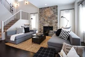 casual living room. NFID Cottage Casual Contemporary-living-room Living Room