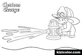 curious george coloring page curious fireman coloring page various coloring pages curious george coloring pages