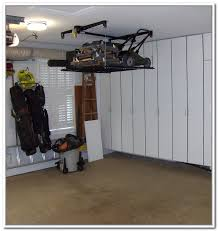 lawn mower garage storage. Lawn Mower Storage Lift Yes Garage Hanging Ceiling On