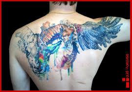 татуировка крылья значение эскизы тату и фото