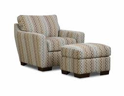 Blue And Brown Accent Chair Brown And Gray Patterned Accent Chair With Ottoman Decofurnish