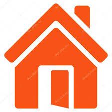 open house door. Open House Door Flat Vector Icon \u2014 Stock