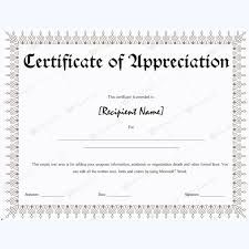 Examples Of Certificates Of Appreciation Wording Gorgeous Certificate Of Appreciation 48 Certificate Of Appreciation