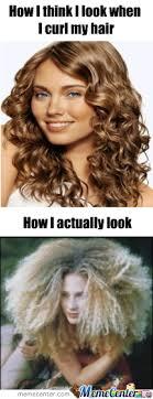 Curly Hair by superpeanut - Meme Center via Relatably.com